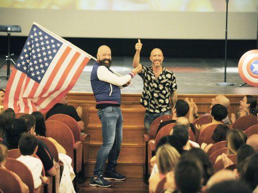 (Fotos) Goyo Jiménez y los avatares de vivir en América