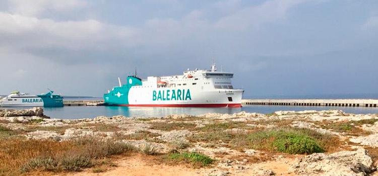 Buques de Baleària.