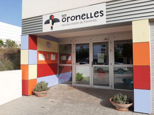 """La """"escoleta Ses Oronelles es la única que hay en el municipio"""
