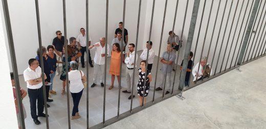 La ampliación ha permitido la retirada definitiva de las cinco aulas modulares del centro