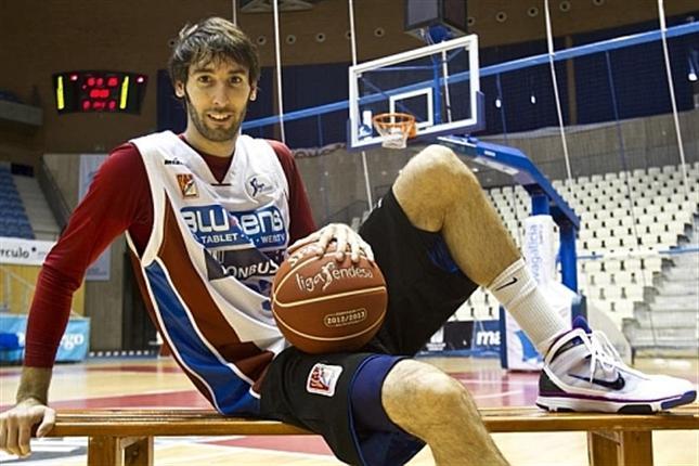 Corbacho, en su periplo en el Obradoiro (Foto: feb.es)