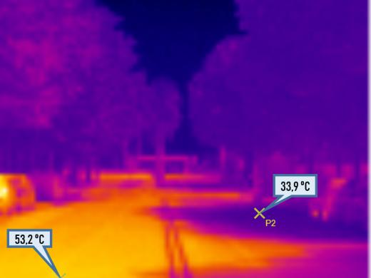 Maó, bajo la perspectiva de una cámara térmica