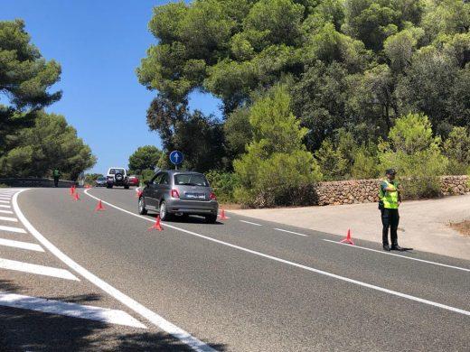 La Guardia Civil se encuentra en el lugar de los hechos (Foto: Tolo Mercadal)