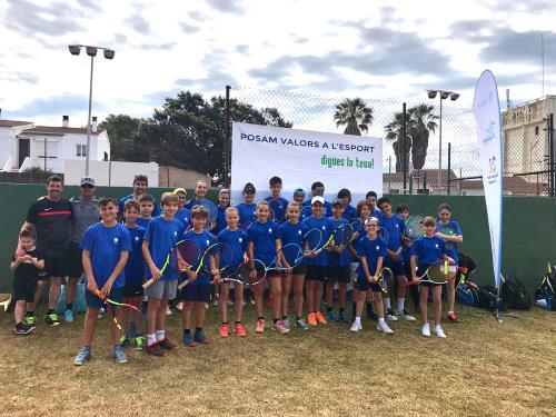 Imagen de uno de los equipos adheridos al programa (Foto: Consell de Menorca)
