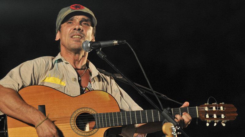 Manu Chao, durante un concierto (Foto: manuchao.net)