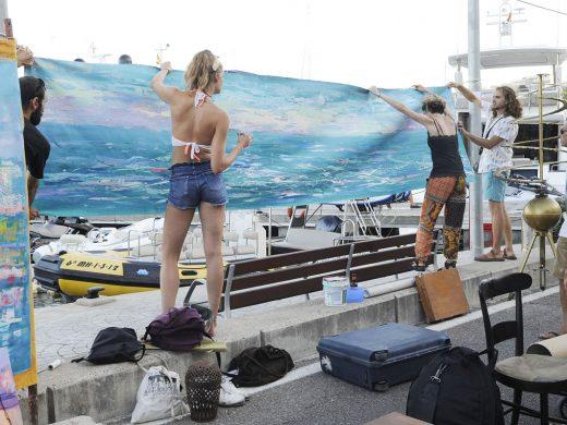 El Maó más artístico toma el puerto