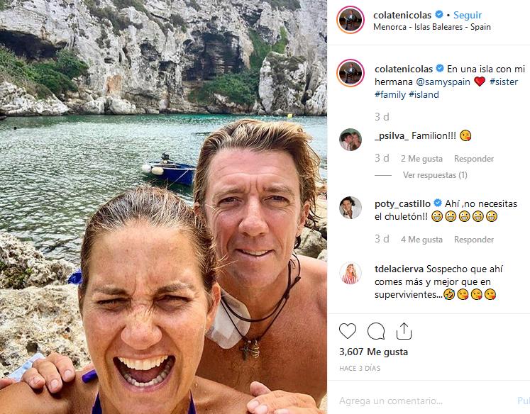 Fotografía que los hermanos han colgado en Instagram.