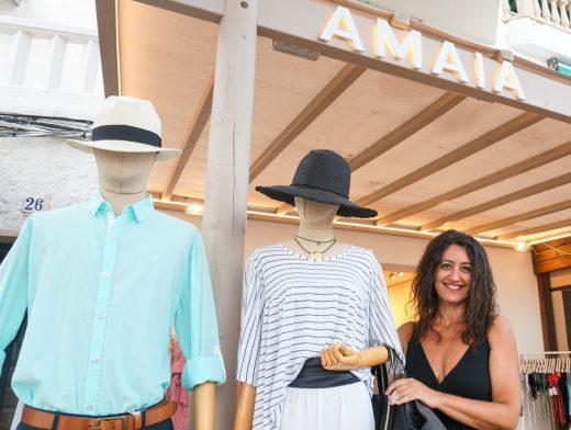 Rosa Carreras, comerciante del puerto de Maó (Foto: Mallorca Press)