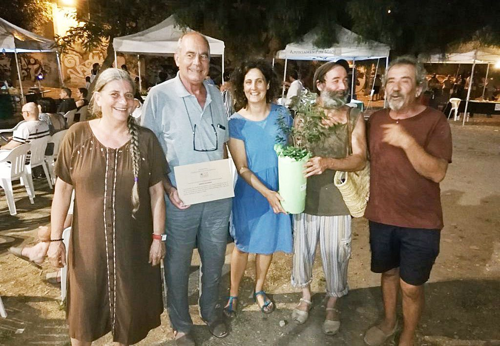 La labor de recuperación de las variedades locales de árboles frutales propias de Menorca es uno de los motivos de este premio