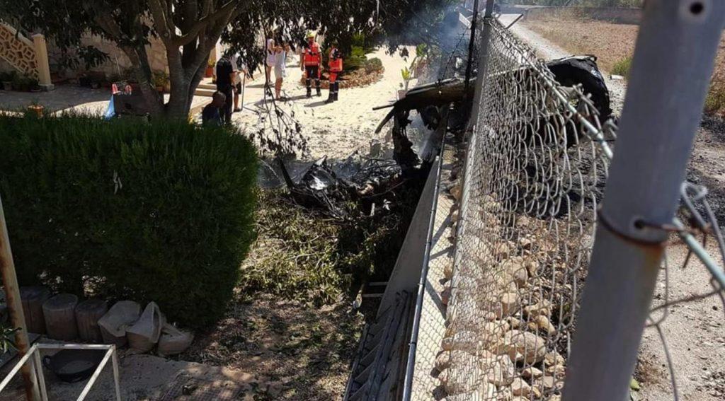 Imagen del lugar de siniestro publicada por el Servicio de Información de Emergencias