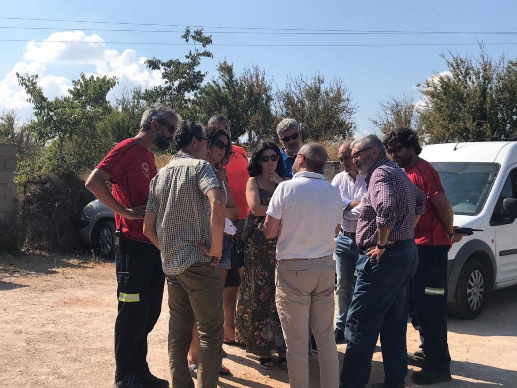 Las autoridades de Baleares se han desplazado al lugar donde se han precipìtado los dos aparatos