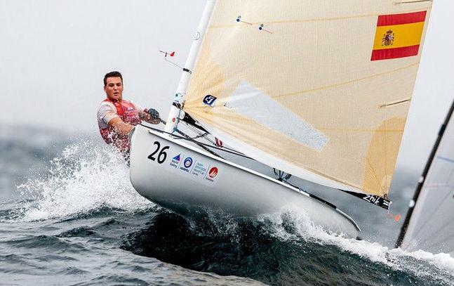 Cardona, en plena regata (Foto: Sailing Energy)