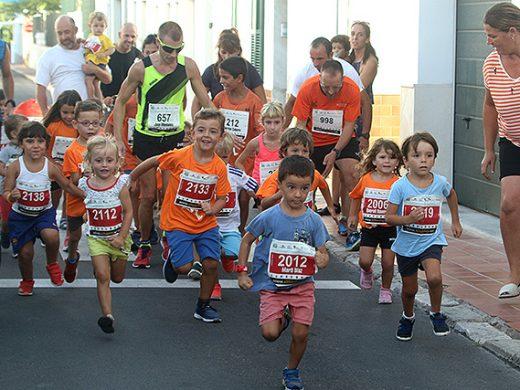(Fotos) Fiesta del atletismo en Sant Lluís
