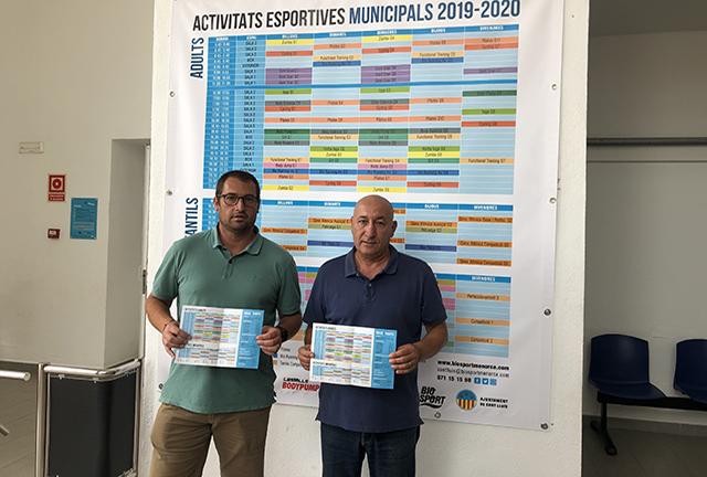 Imagen de la presentación de las actividades (Foto: Biosport Menorca)