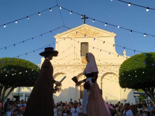 (Fotos) Fiesta, gigantes y paella en Sant Lluís