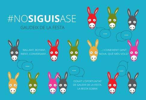 Imagen de la campaña #nosiguisase