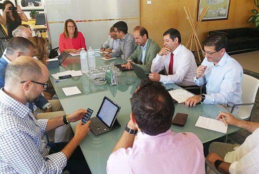 Imagen de la reunión celebrada en el Consell de Menorca