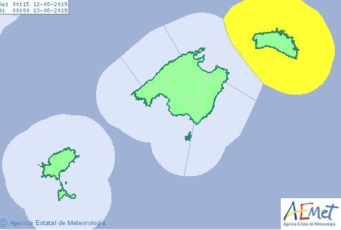 La Aemet prevé que las temperaturas nocturnas desciendan esta semana