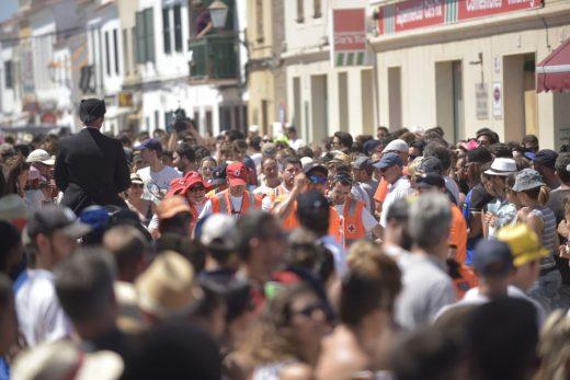 Los actos festivos continuarán hoy según el programa previsto (Foto: Paco Sturla)