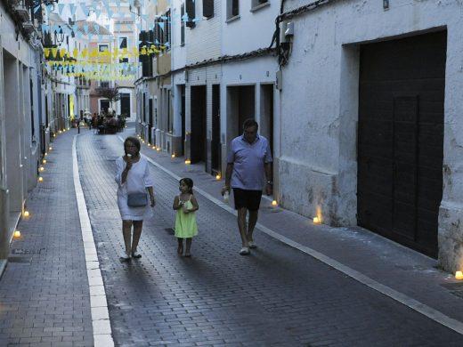 (Fotos) Alaior bajo la luz de las velas
