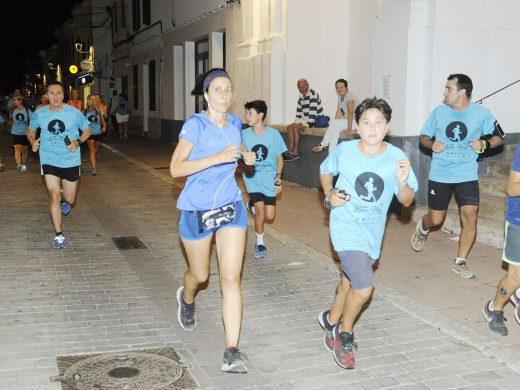 (Fotos) Corriendo bajo la luna llena