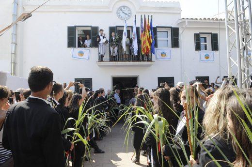 Imagen de las fiestas de Sant Lluís del año pasado (Foto: Tolo Mercadal)