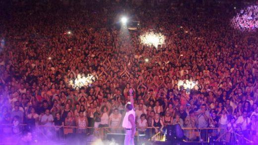 Un momento del espectacular concierto (Foto: Jaume Fiol)