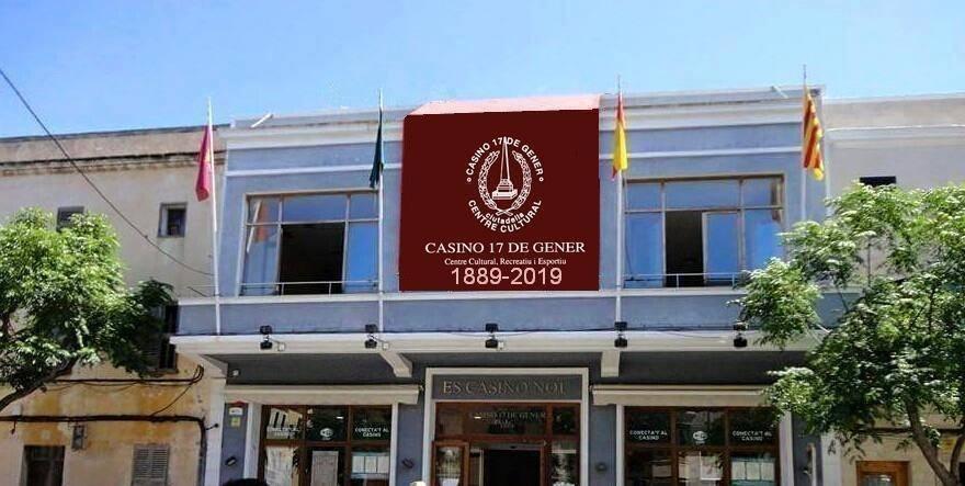 Imagen del Casino 17 de gener publicada en su Facebook