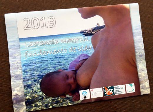 Calendario 2019 del Grupo de lactancia