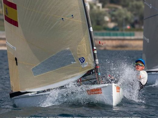 (Fotos) Joan Cardona gana la International Finn Cup