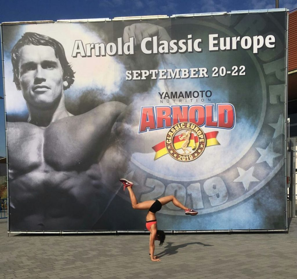 Ruth Álvarez, en el Arnold Classic Europe.