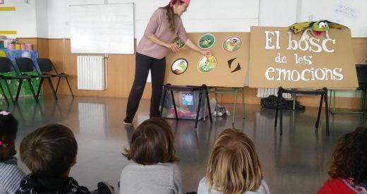 Imagen de un cuenta cuentos infantil celebrado el curso pasado