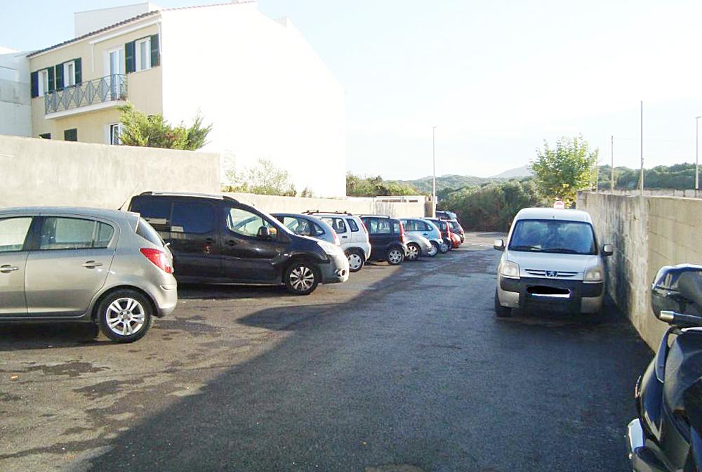 Imagen del nuevo aparcamiento (Foto: Ayuntamiento de Es Migjorn Gran)