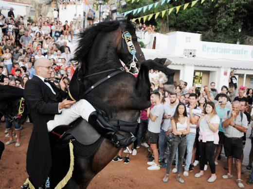 (Fotos) Fiesta y caballos en la playa