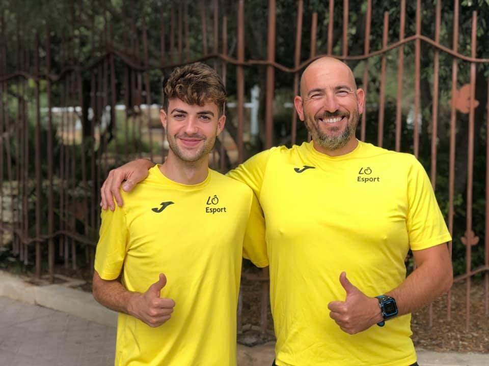Sergi Reurer y Josep Mª Buendía (derecha). Foto: Lò Esport