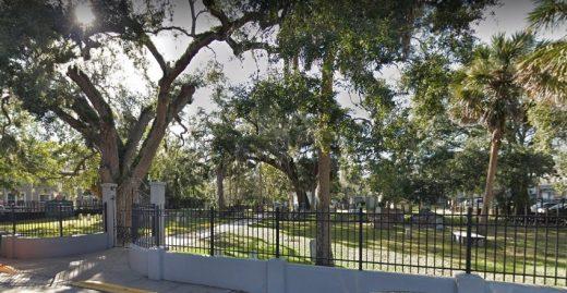Tolomato Cemetery.