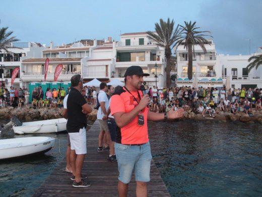 Dan la salida a la Half Artiem Menorca