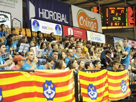 (Fotos) El Hestia Menorca se estrena en Bintaufa con una cómoda victoria