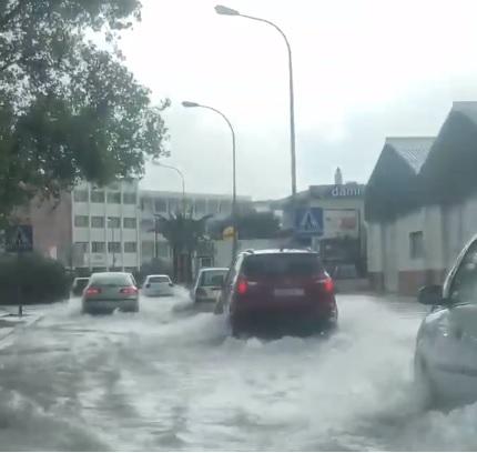 Inundado.
