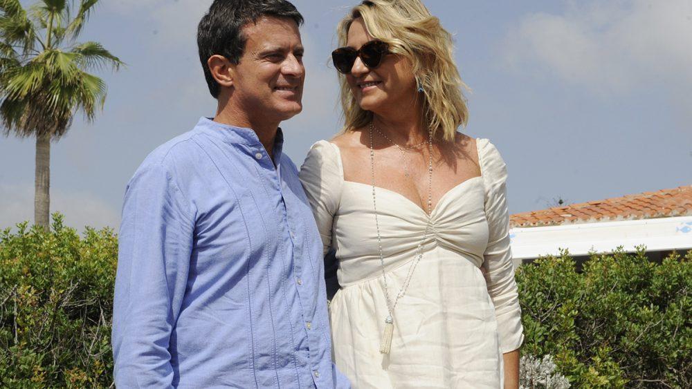 Valls y Gallardo, en uno de los actos de su boda en Menorca (Foto: Tolo Mercadal)