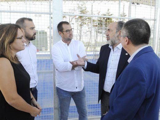 (Fotos) Sant Lluís estrena sus pistas de pádel para el WPT