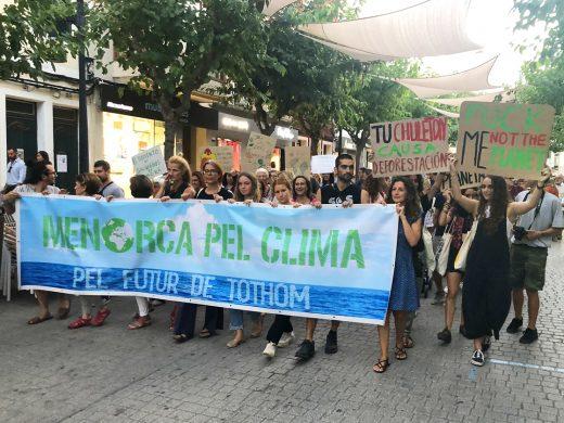 (Fotos) Menorca lucha por el clima