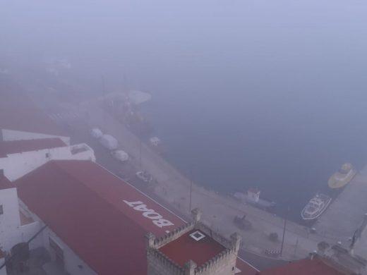 (Fotos) La niebla ha cubierto Menorca esta mañana
