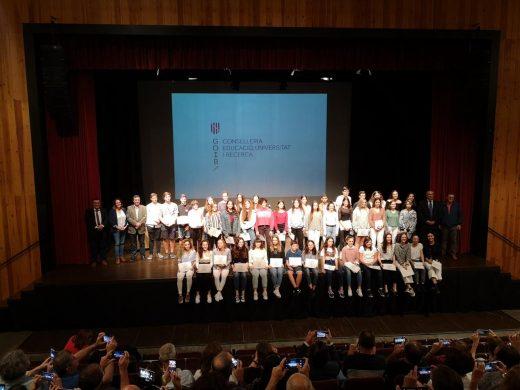 (Fotos) Tributo a los alumnos más aplicados de Menorca