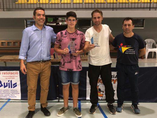 (Galería de fotos) Joel Bagur, campeón de Menorca de tenis de mesa