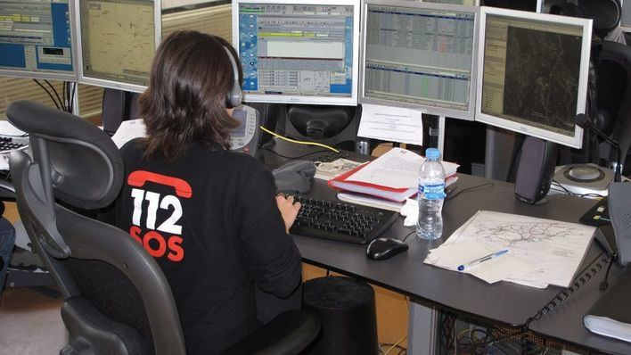 Sala de emergencias del 112 (Foto: mallorcadiario.com)