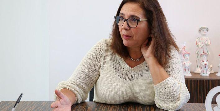 García Romero, durante la entrevista (Foto: mallorcadiario.com)