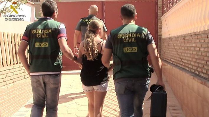 La mujer ha sido detenida en Málaga.