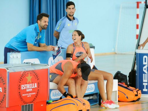 (Galería de fotos) Gemma Triay ya está en cuartos de final