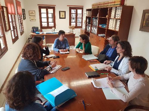 Imagen de la reunión celebrada en Ciutadella